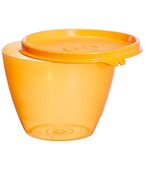 Teflon Tupperware tupperware yellow plastic container buy at