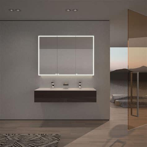 spiegelschrank umbau auf led spiegelschrank nach ma 223 mit led credo badezimmer