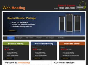 best free host free hosting website templates 23 free css