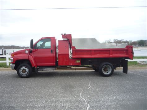 used trucks used 2003 chevrolet c5500 dump truck for sale in nj 11162