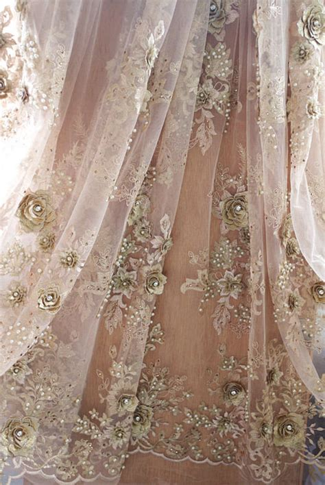 beaded lace fabric by the yard 1 yard gold beaded lace fabric by the yard heavy