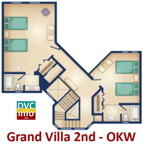 old key west grand villa floor plan disney s old key west resort dvcinfo