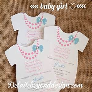 onesie die cut baby shower invitation by detailsbeyonddesign