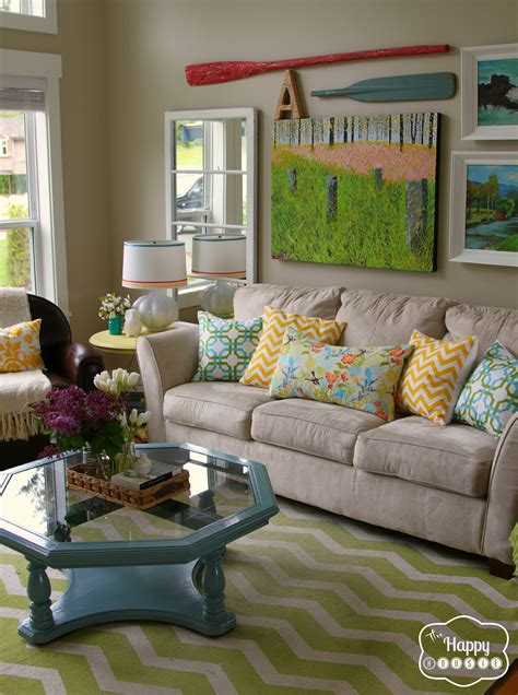 happy living room the quot i m so ready for summer home tour quot a few updates and some things to come the happy housie