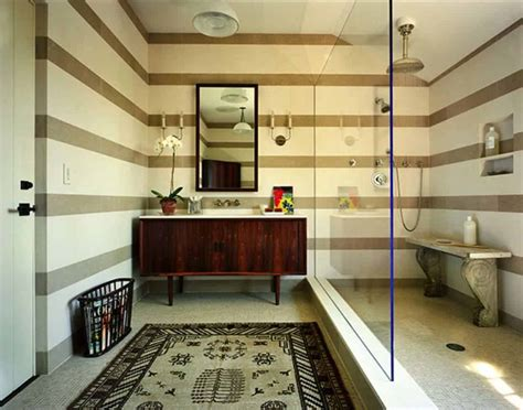 beautiful Mid Century Modern Decor On A Budget #3: Mid-Century-Modern-Bathroom-Ideas-34-1-Kindesign.jpg