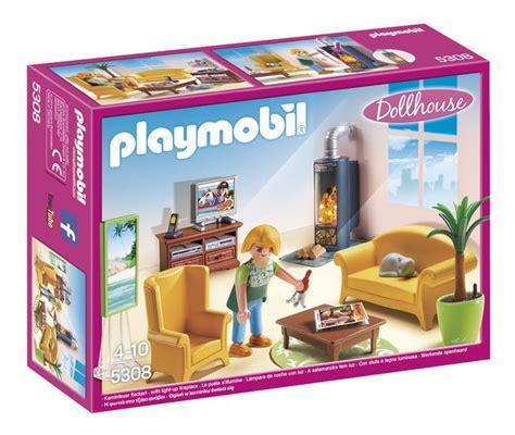 Modele De Salon 5308 playmobil dollhouse 5308 salon avec po 234 le 224 bois dreamland