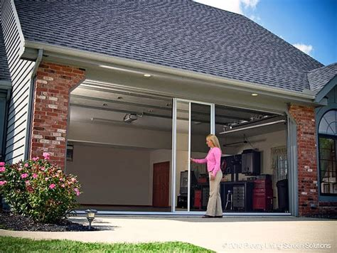 40 Smart Interesting And Innovative Home Improvement And Garage Door Alternatives