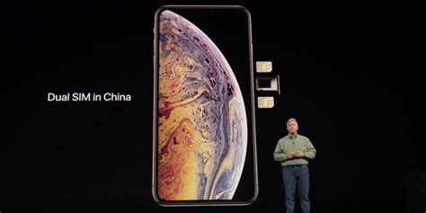 on with iphone xs max with physical dual sims 9to5mac