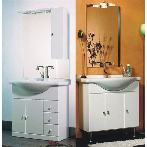 mobile bianco bagno mobile bagno cleo cm 85 bianco bh