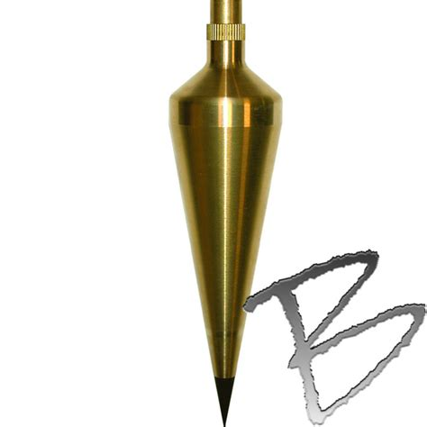 Plumb Bo by Seco Plumb Bob Solid Brass Plumb Bobs Gammon Reels