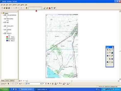 arcgis tutorial manual curso de arcgis video tutorial parte 4a vectorizar