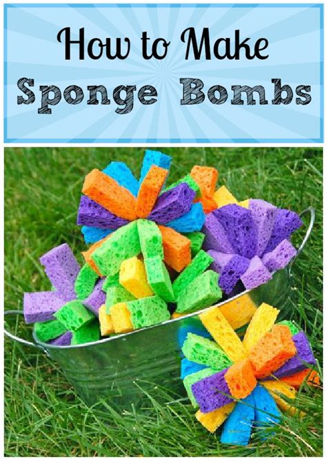 what do you need to get a sponge haircut sparkly ladies for the kiddos how to make sponge bombs