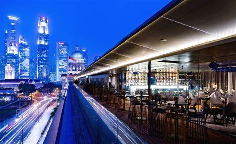 Trump Penhouse rooftop restaurants in singapore alfresco and indoor for
