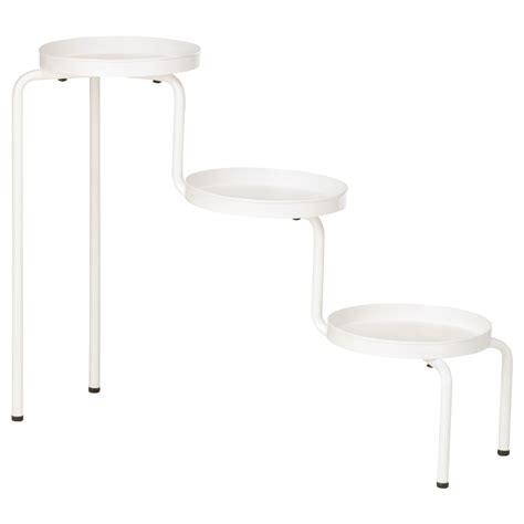 ikea plant stand ikea ps 2014 plant stand in outdoor white 53 cm ikea