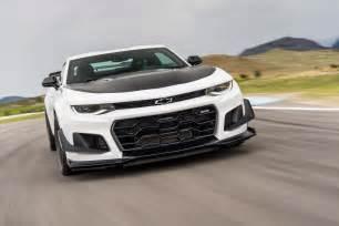 2018 chevrolet camaro zl1 1le test review motor trend