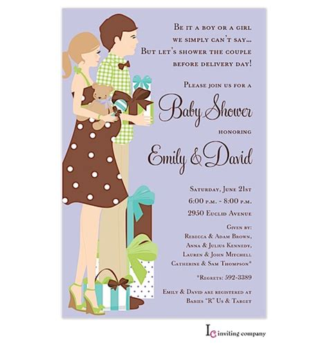 Coed Baby Shower Invitations Wording Ideas by Baby Shower Invitations Coed Baby Shower Invitation