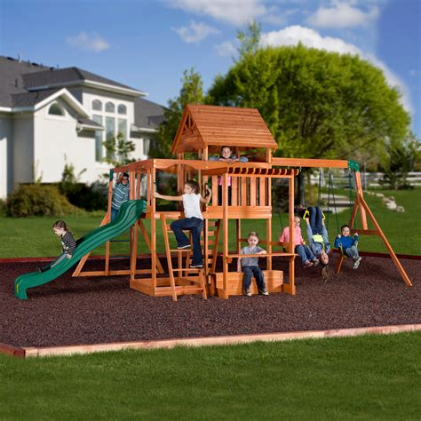 cheap outdoor swing sets walmart toddler outdoor playsets wooden swing sets
