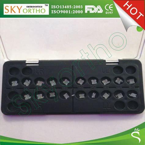 Bracket Behel Metal Sky Ortho sky ortho dental orthodontic brackets metal ceramic buy