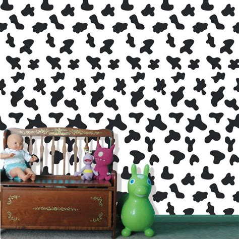 peel and stick wallpaper removable wallpaper roommates removable peel and stick fabric wallpaper seamless cow