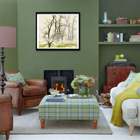 Green Living Room Paint Uk Forest Green Living Room Living Room Decorating Ideas