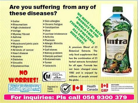 Intra Herbal amazing intra herbal food supplement dubai