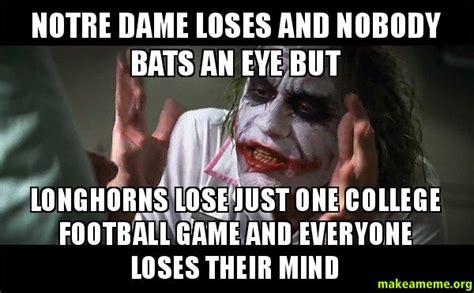 Notre Dame Meme - notre dame football memes