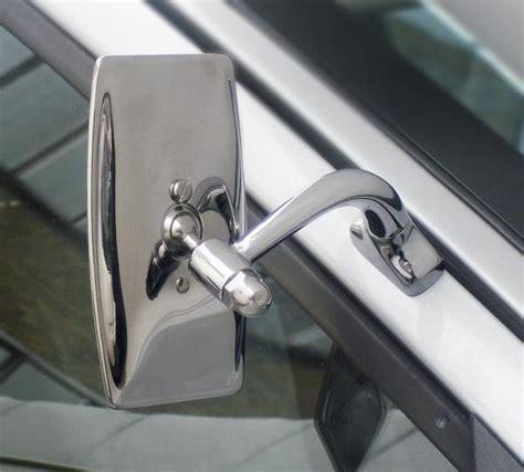 universal rectangular classic car door mirror