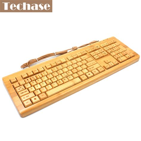 Keyboard For 4 bamboo keyboards wired 108 ergonomics multimedia with numeric keyboard for laptop office