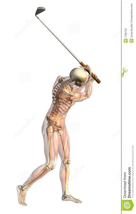 swing time ta golf tr 228 nga sig in genomskinlig halv skelett swin