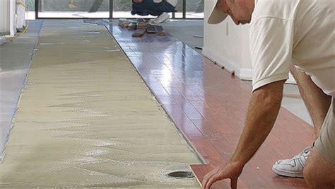Glue Wood Flooring to a Concrete Slab   Fine Homebuilding