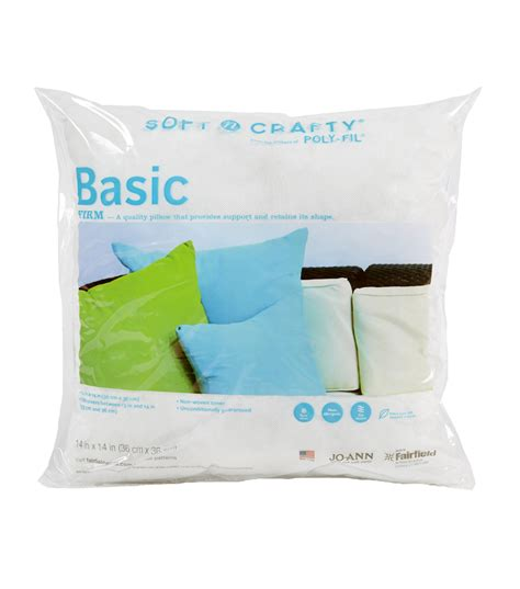 Joanns Pillow Forms by Soft N Crafty Basic Pillow 14 Quot X14 Quot Jo