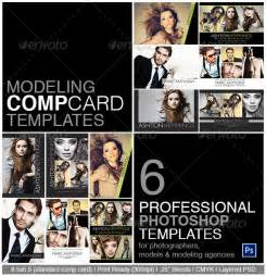 Free Model Comp Card Template by Model Comp Card Photoshop Template On Behance