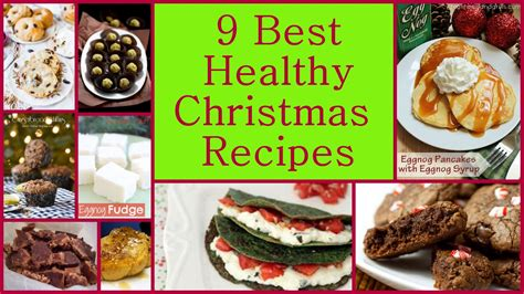 9 best healthy christmas recipes favehealthyrecipes com