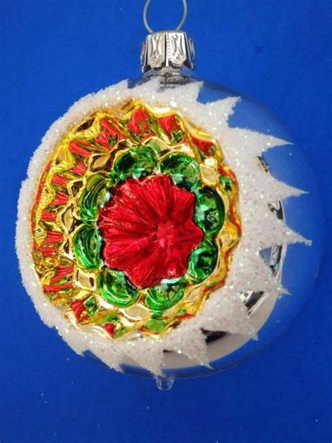 german christmas ornaments in warwick ri 2 2 quot silver white kugel reflector german blown glass ornament ebay