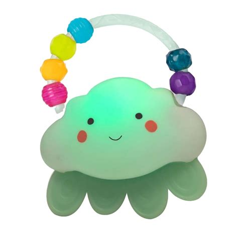 bright lights baby toys b baby light up cloud rattle b toys uk