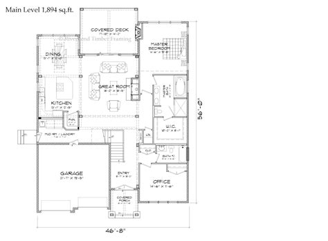 mountain home floor plans mountain view timber frame home floor plans