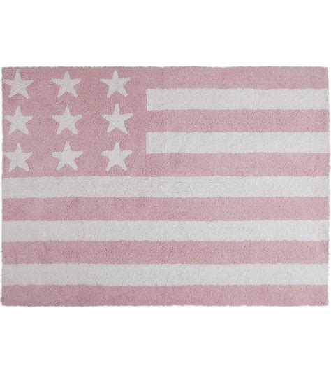 baby pink rugs canals flag rug usa baby pink 4 x 5 3 quot