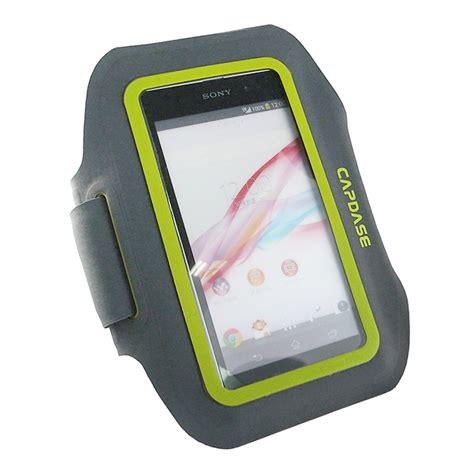 Armband Capdase Zonic Iphone 5 sport armband zonic plus 145a for 5inch black yellow