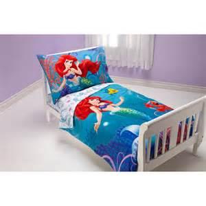 Disney Princess Toddler Bed Measurements Disney Mermaid Quot Princess Quot 4pc Toddler