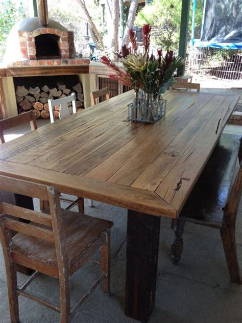 Recycled Timber Dining Tables Soul Bespoke Upcycled Furniture Recycled Interiors