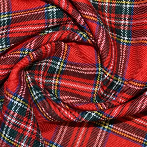 Tartan Fabrics For Upholstery by Royal Stewart Tartan Fabric Tartan Fabrics Calico