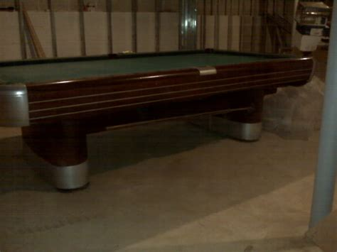 official size pool tables for sale value of a brunswick official size slate pool table