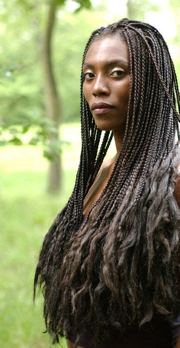 small box braids with loose ends 60 totally chic and colorful box braids hairstyles to wear