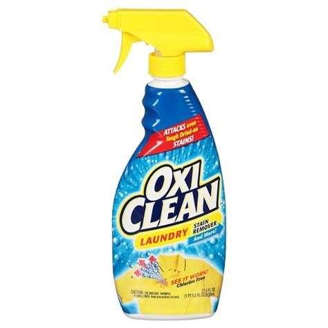 oxiclean upholstery oxiclean laundry stain remover spray 21 5 oz target