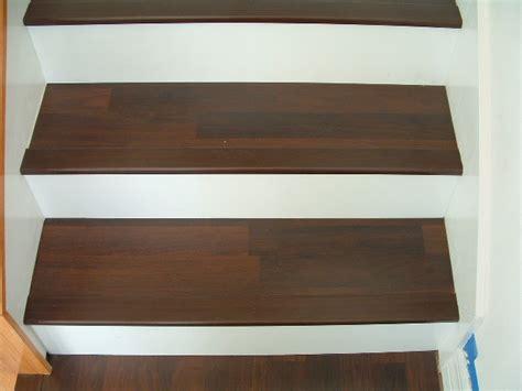 Laminate Vs Hardwood installing stair nose for diy stair installation tampa