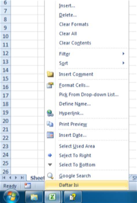 membuat hyperlink dengan vba excelheru cara membuat link ke setiap sheet di workbook