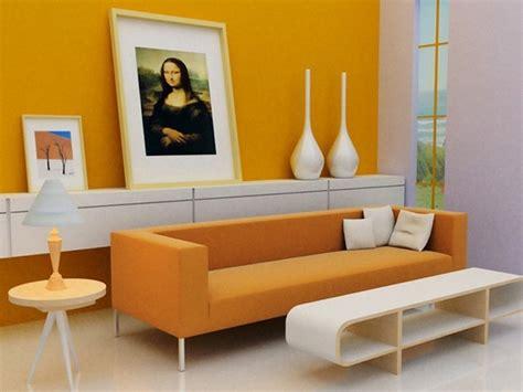 orange wohnzimmer farben f 252 r wohnzimmer in orange 80 wohnideen