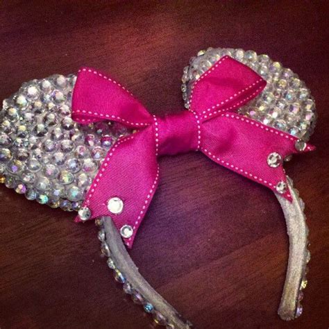 Handmade Minnie Mouse Ears - handmade minnie mouse ears lazos para ni 241 as