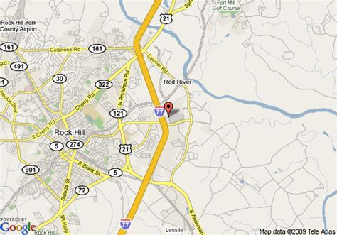 rock hill carolina map map of wingate by wyndham rock hill metro area