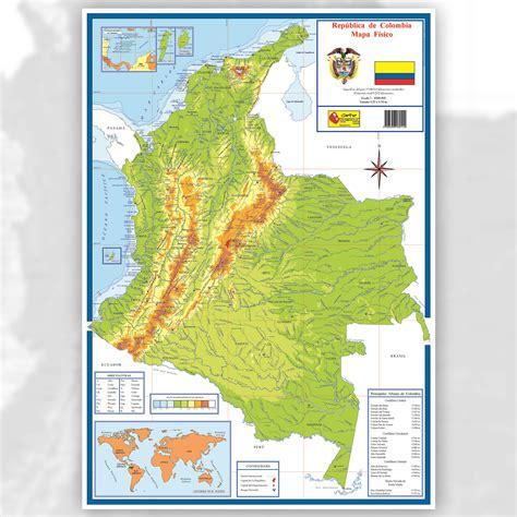 as 237 de f 225 mapa de colombia con sus limites mapa geografico mapa de